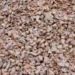 Red gravel background — Stock Photo