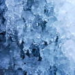 Icy background — Stock Photo
