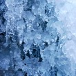 Icy background - Stock Photo