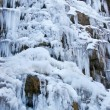 Photo: Frozen waterfall