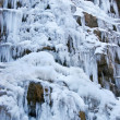 Frozen waterfall — Stockfoto