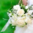 Close up of bridal bouquet — Stock Photo