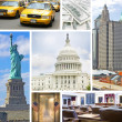 Set of NYC images - Stock Photo