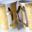 Two cups, shadow DOF — Stock Photo