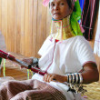 Stock Photo: Padaung Tribe Lady, Loikaw, Myanmar (Burma)