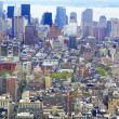 NYC from bird's eye view — Stockfoto