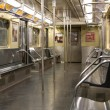 Subway wagon interior - Stock Photo