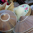 Stock Photo: Straw hats, market, Myanmar