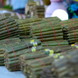 Stock Photo: Myanmar cigars, shadow DOF