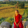 Portrait of young monk — Stock Photo #12619142