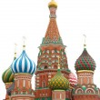 Stock Photo: St basil cathedral, moscow, russia