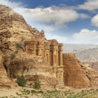 Petra, jordan, monastery - Stock Photo