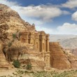 Stock Photo: Petra, jordan, monastery