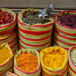Spices on market - Stock Photo