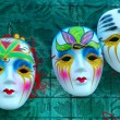 Venetian masks — Stock Photo