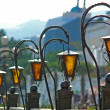 Street lamps - Stock Photo