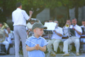 Young conductor — Stock Photo