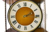 Old-fashioned clock — Stock Photo