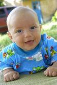 Smiling baby boy — Stock Photo