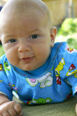 Portrait of a smiling baby — Stock Photo