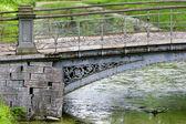 Old bridge in park — Stock Photo