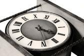 Old clock close up — Stock Photo