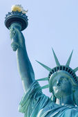 Close up of Statue of Liberty — Stock Photo