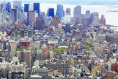NYC from bird's eye view — Stock Photo