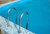 Close up of swimming pool — Stock Photo