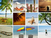 Summertime shots collection — Stock Photo