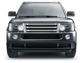 FRONT VIEW OF SUV CAR — Stock Photo