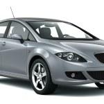 Compact silver car — Stock Photo #39642341