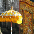 Stock Photo: Balinese Temple Umbrella