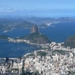 Panorama of Rio de Janeiro 21:9 scale — Stock Photo #13424398