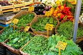 Roma i̇talya geleneksel bir pazarda sebze — Stok fotoğraf