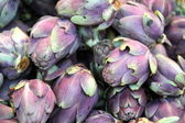 Artichokes at a Traditional Market in Rome Italy — Stock Photo