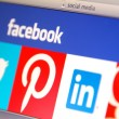 Most Popular Social Media Are Vulnerable to Security Threats - Stock Photo