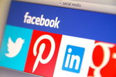 Most Popular Social Media Are Vulnerable to Security Threats — Foto Stock