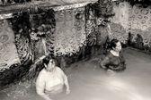 Hot Sulphur Baths at Banjar Bali — Stock Photo