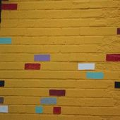 Wild Multi-Colored Wall — Stock Photo