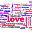 Foto Stock: Love words