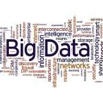 Облако слов большой данных — Стоковое фото