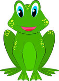 Frog cartoon — Stock Vector