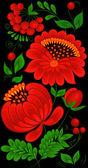 стола цветок — Cтоковый вектор
