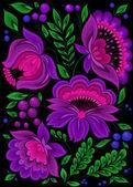 Backgrounds flower — Stock Vector