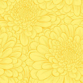Beautiful seamless pattern with hand-drawn flowers. — Stock Vector