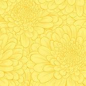 Vackra seamless mönster med handritade blommor. — Stockvektor