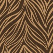 Seamless texture of tiger skin — Stock Vector