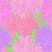Piękne tło z kwiatami. — Wektor stockowy
