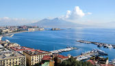 Naples panoramic view — Stock Photo